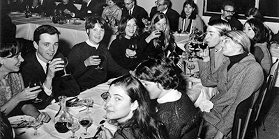 college students in Bordeaux in the 60s